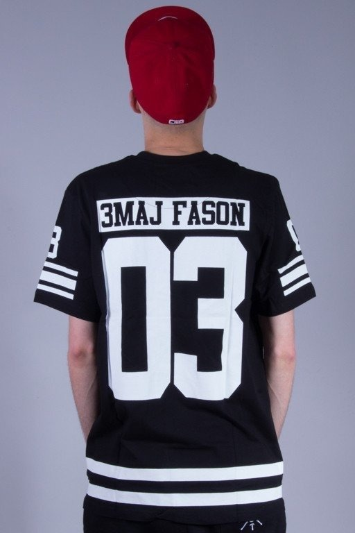 3MAJ FASON KOSZULKA 03 POCKET BLACK