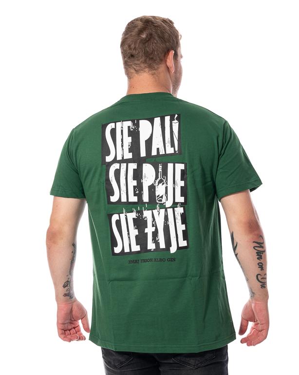 Koszulka 3maj Fason Się Pije Zielona