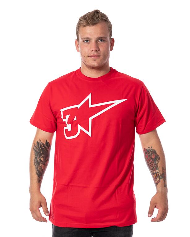 Koszulka 3maj Fason Star Czerwona